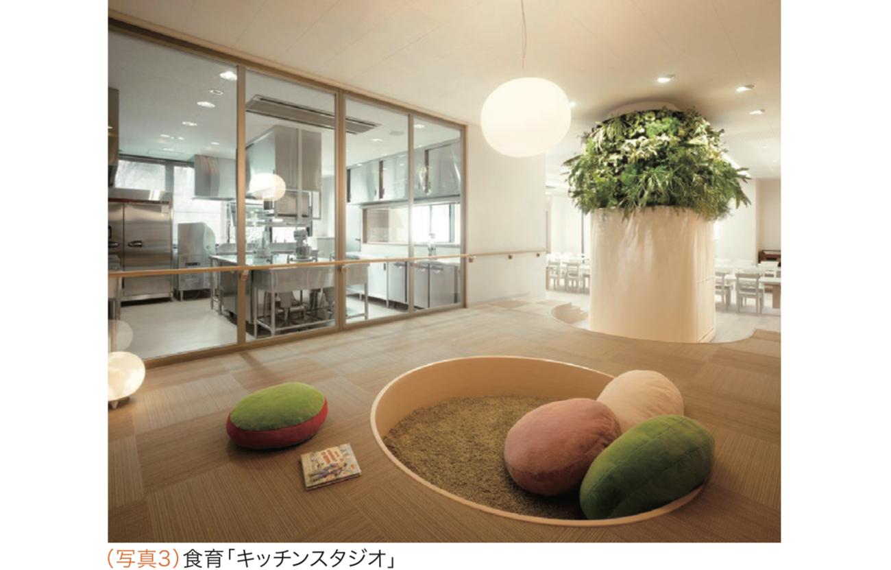 (写真3)食育「キッチンスタジオ」