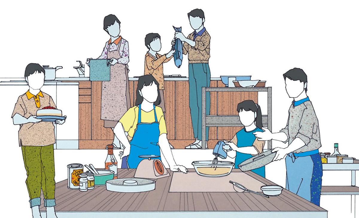家事① 現代社会の家事ストレス