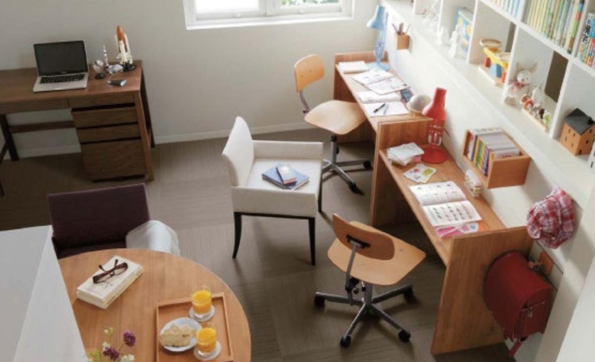 学びの環境① 住まいの学習空間の変化 〜勉強部屋からホームコモンズへ〜